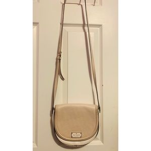 Kate Spade cream colored cross body purse